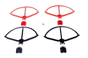 PhantomGuard - Snap-on prop guard for DJI Phantom 1 & 2 (Vision, Vision+ and all other models). Set of 4.